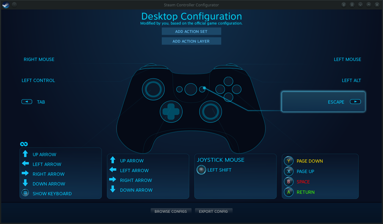 Desktop Configuration