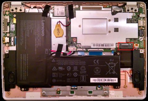 Lenovo ideapad 110S_guts