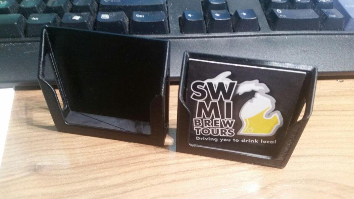 Card Holder Design Change