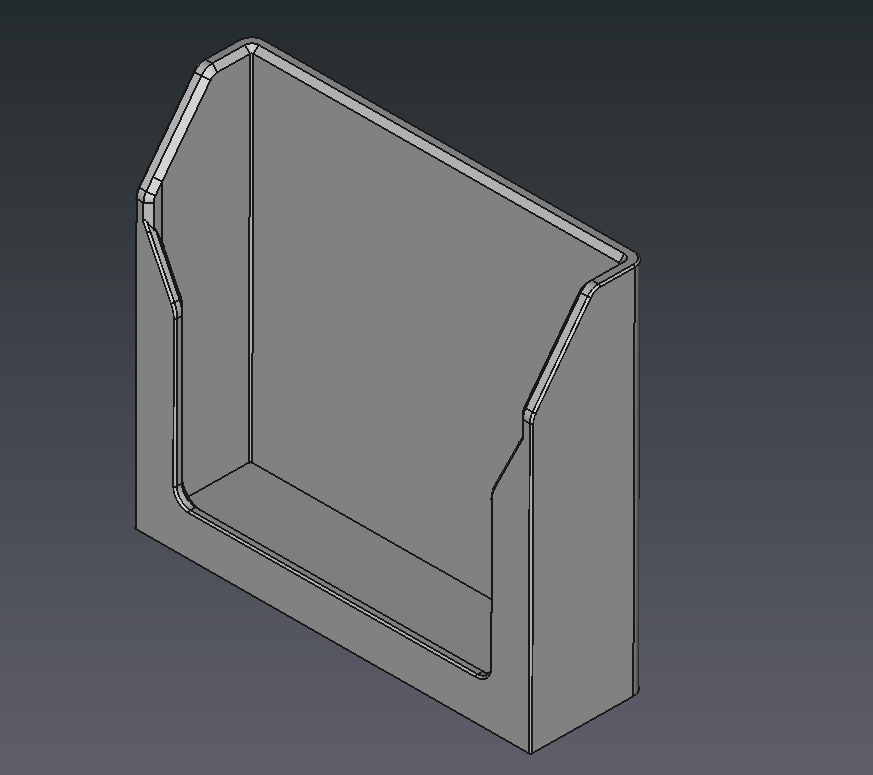FreeCAD Card Holder