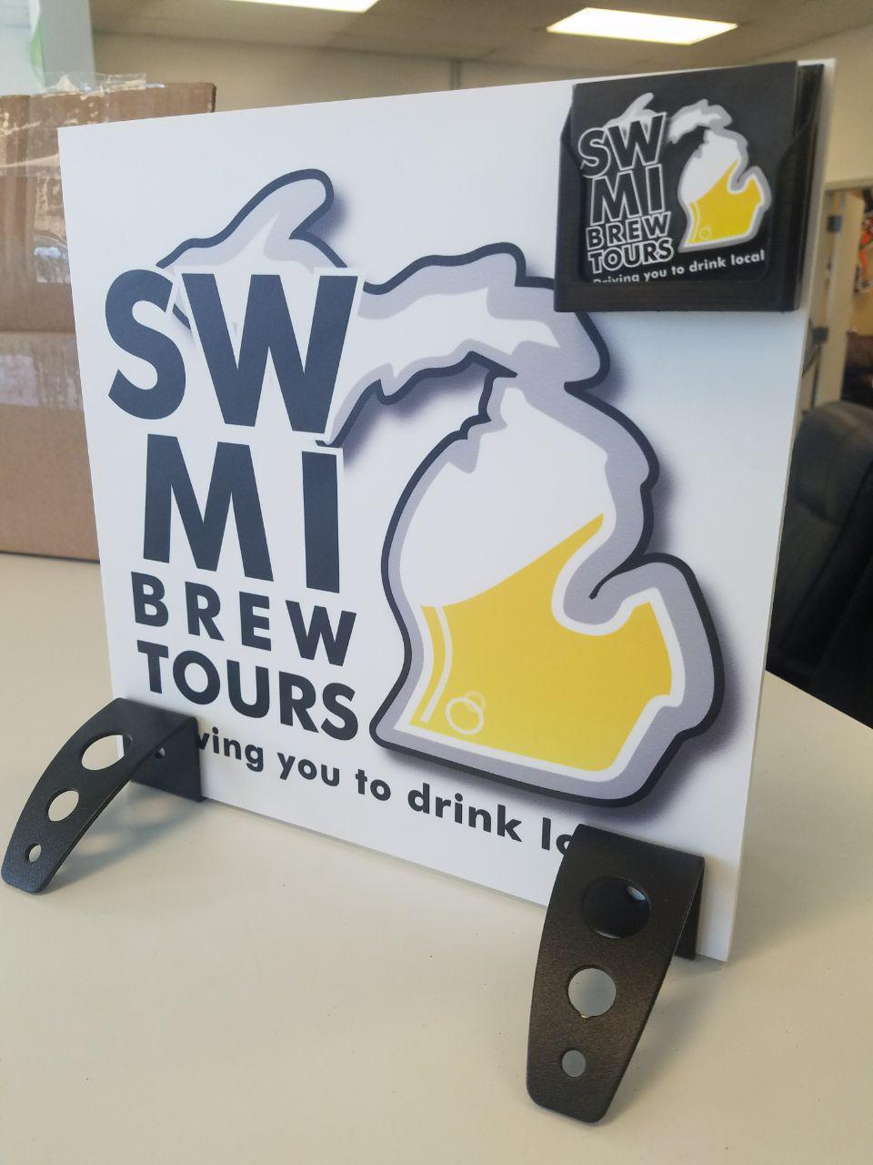 SWMI Brew Tour Placard