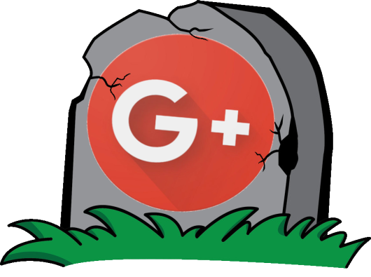 Google Plus Grave Stone