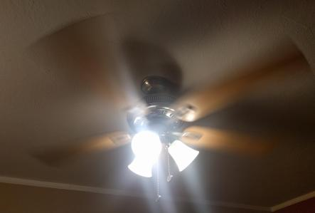 Ceiling Fan Spinning-02