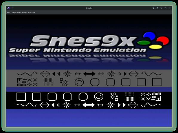 Snes9x Welcome Screen-00