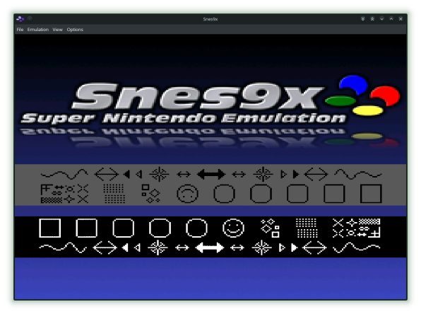 Snes9x Welcome Screen-00