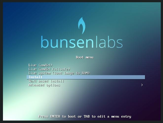 BunsenLabs-02-Grub