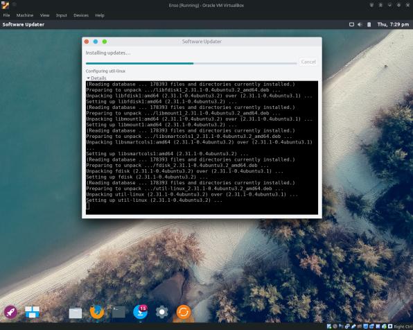 EnsoOS-16-Updating Software