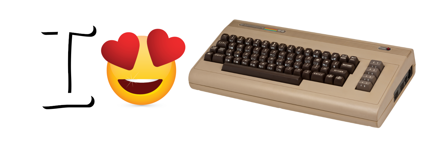 i heart commodore-64