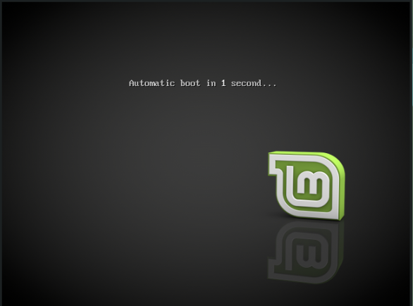 linuxmint-01-live media boot