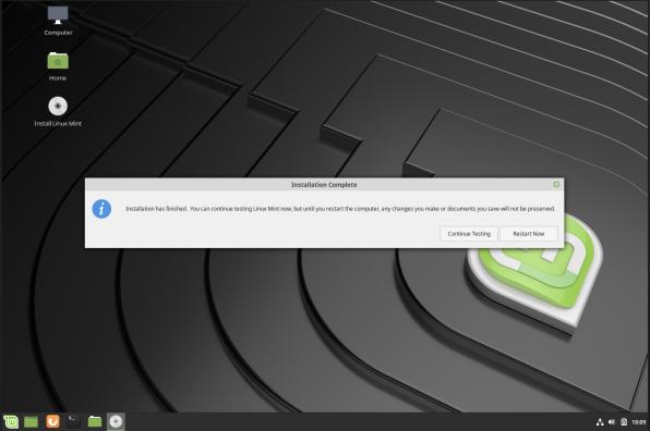 linuxmint-11-post install restart