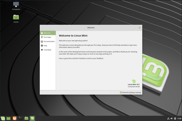 linuxmint-13-welcome