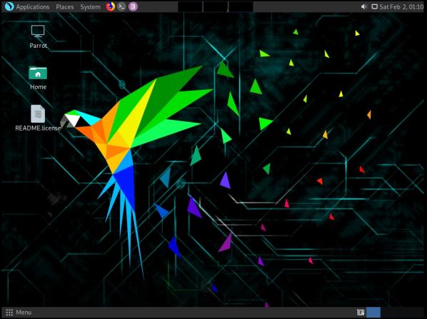 ParrotOS-31-Desktop