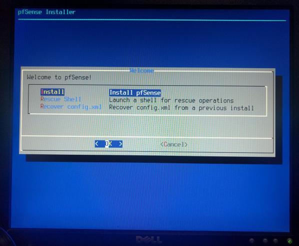 pfSense-06-Select Install