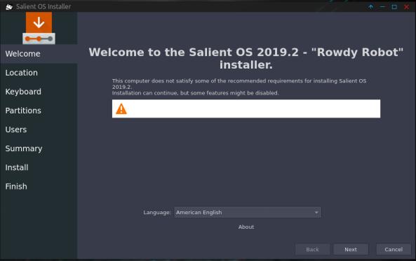 SalientOS-04-Installer Welcome