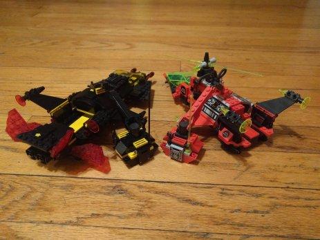 Invader Crane Mode-16
