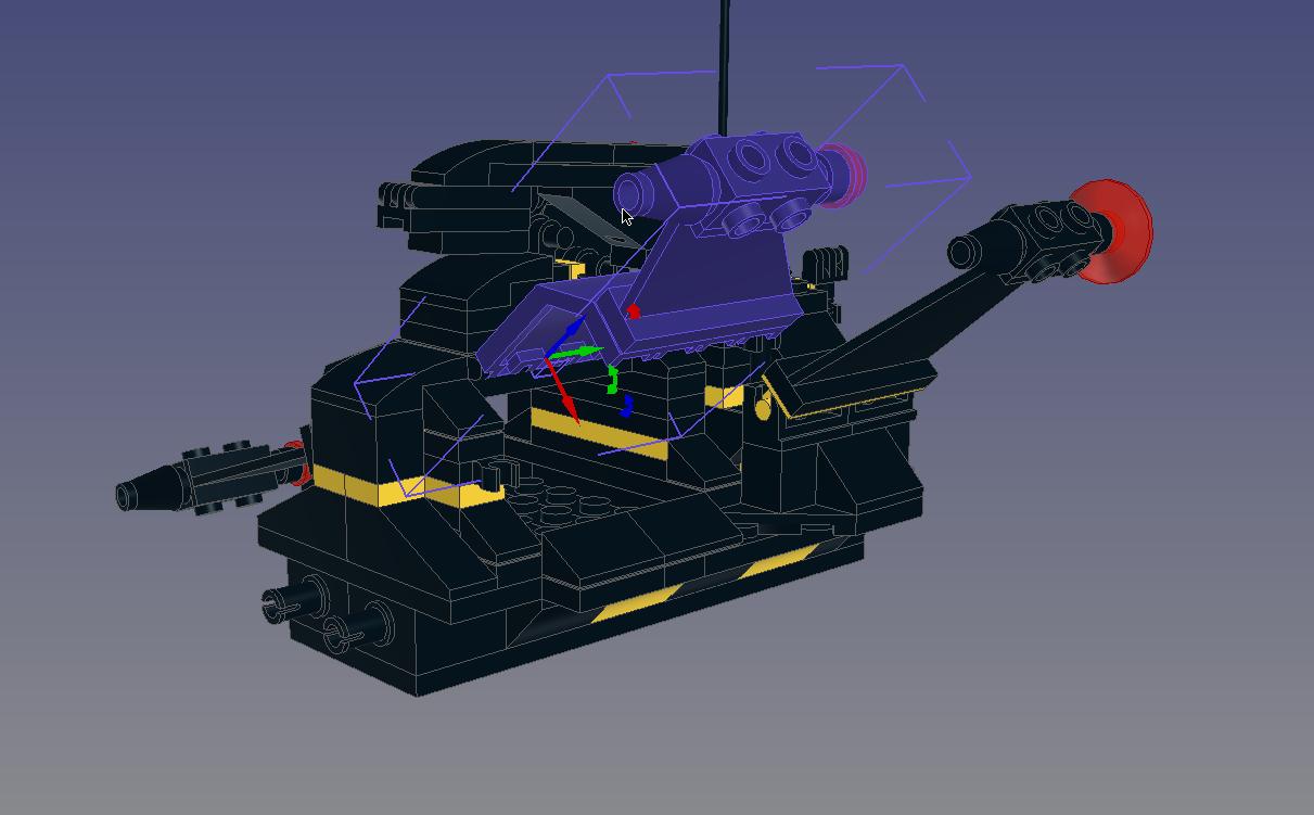 Invader Crane Mode-17-Module