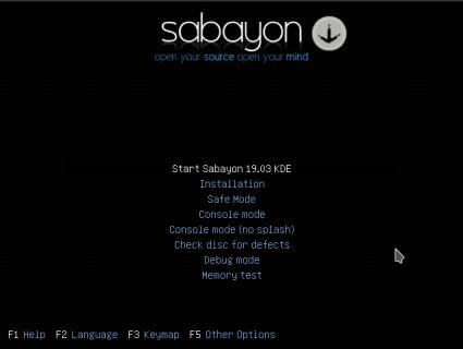 Sabayon-01-boot install