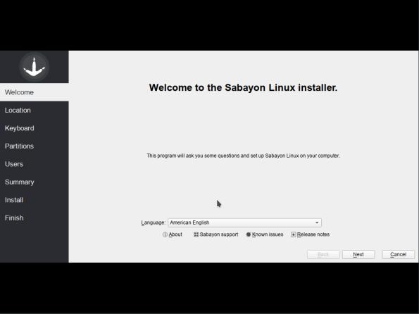 Sabayon-02-Welcome
