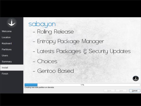 Sabayon-08-Installation Process