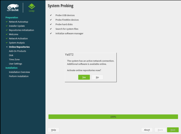 openSUSE Leap 15.1 Installation 7