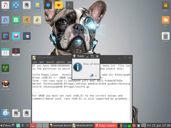 PuppyLinux VM 32