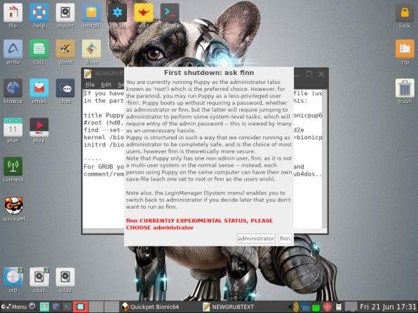 PuppyLinux VM 35