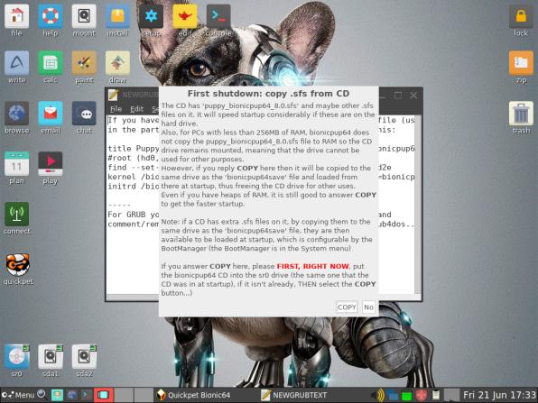 PuppyLinux VM 43