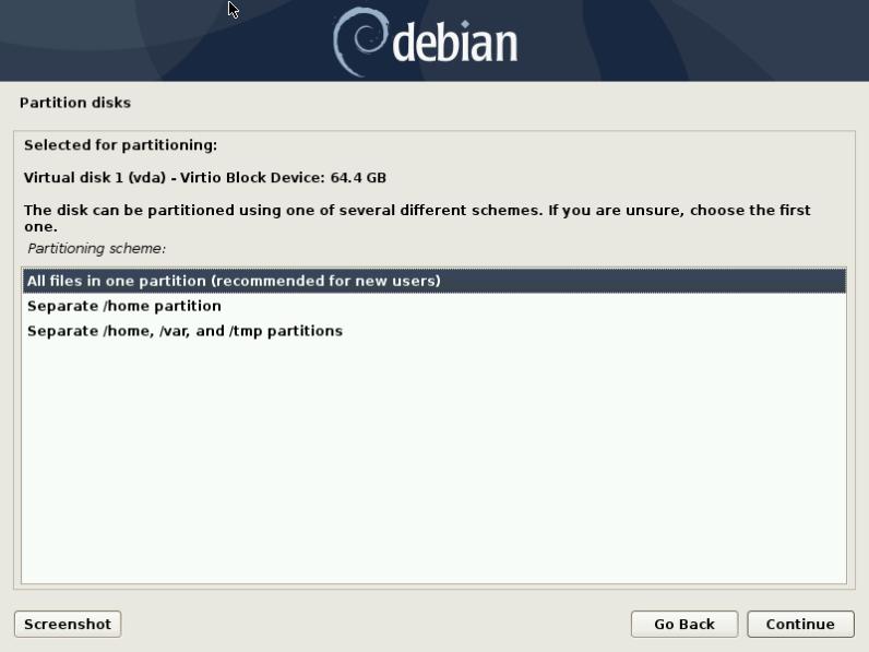 Debian 10 16 Installation