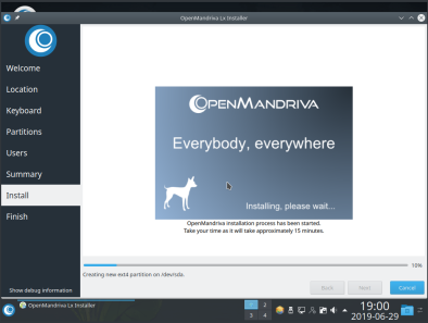 OpenMandriva 20
